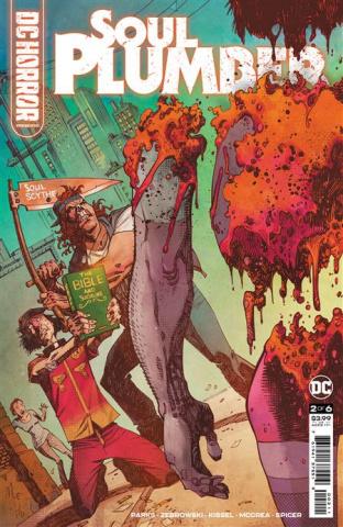 DC Horror Presents: Soul Plumber #2 (John McCrea Cover)