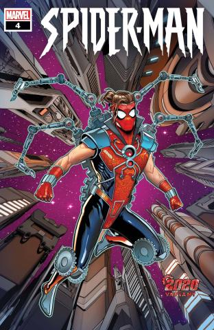 Spider-Man #4 (Sliney 2020 Cover)