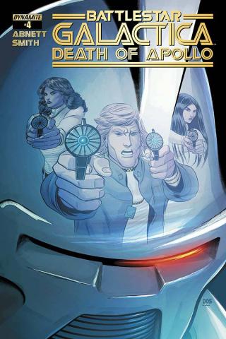 Battlestar Galactica: Death of Apollo #4 (Smith Cover)