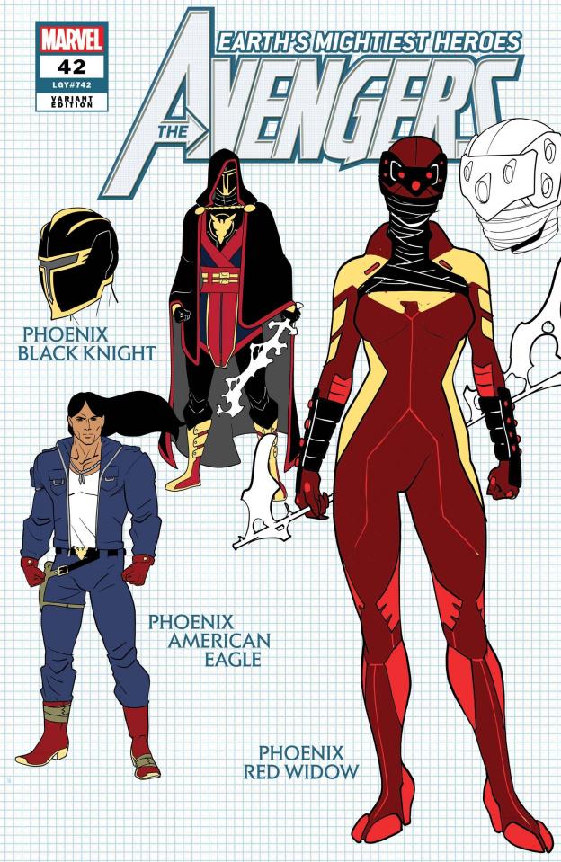 Avengers #42 (Garron Design Cover)