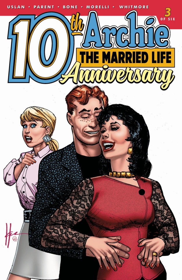 Archie: The Married Life - 10 Years Later #3 (Chaykin Cover)