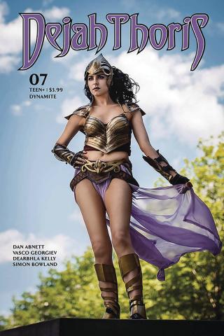 Dejah Thoris #7 (Estrada Cosplay Cover)