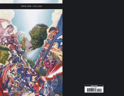 Fantastic Four #5 (Ross Cover)