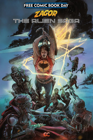 Zagor: The Alien Saga FCBD 2019