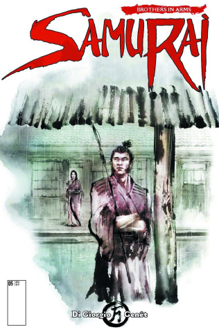 Samurai: Brothers in Arms #3 (Shang Cover)