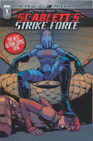 Scarlett's Strike Force #1 (10 Copy Cover)