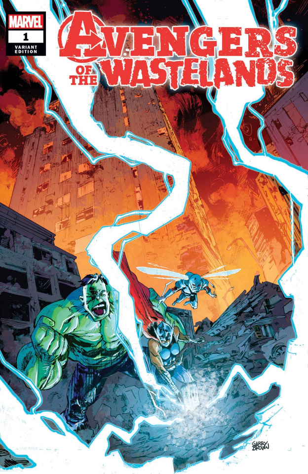 Avengers of the Wastelands #1 (Garry Brown Cover)