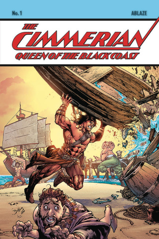 The Cimmerian: Queen of the Black Coast #1 (Ed Benes Cover)