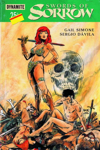 Swords of Sorrow #1 (Hack Subscription Cover)