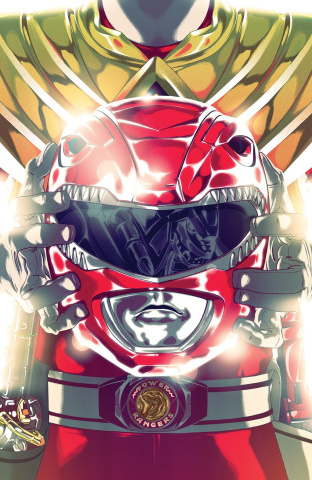 Mighty Morphin' Power Rangers #46 (Foil Montes Cover)