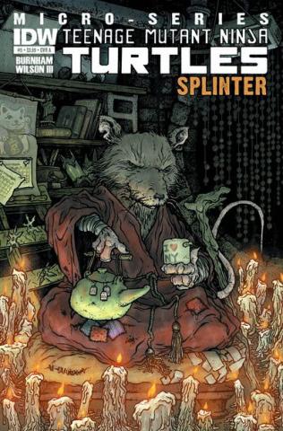 Teenage Mutant Ninja Turtles Micro-Series #5: Splinter