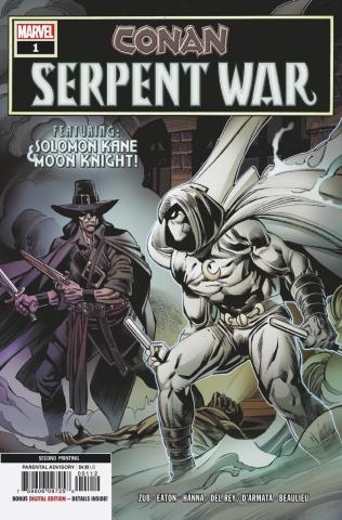 Conan: Serpent War #1 (Eaton 2nd Printing)