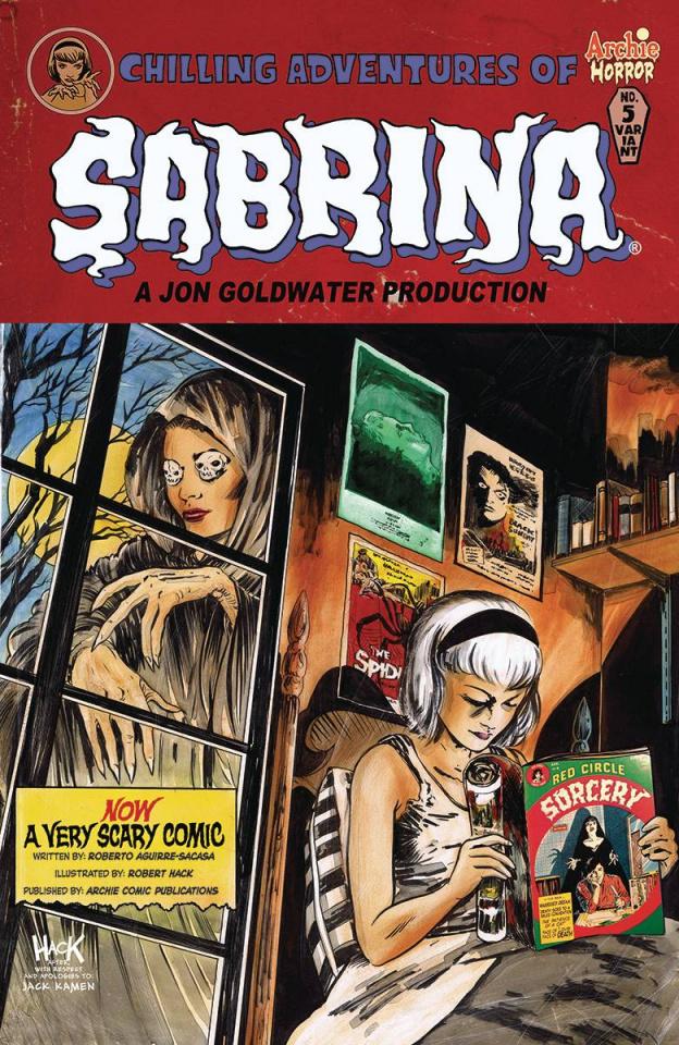 Sabrina #5 (Hack Cover)