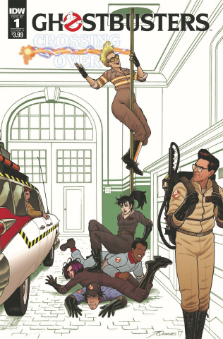 Ghostbusters: Crossing Over #1 (Quinones Cover)