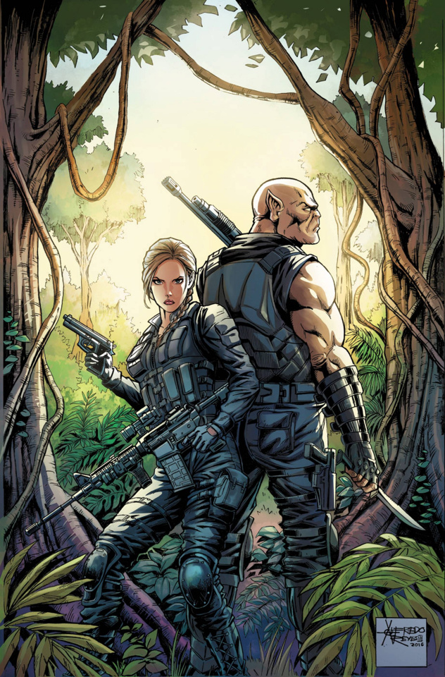 Grimm Fairy Tales: Escape From Monster Island #5 (Reyes Cover)