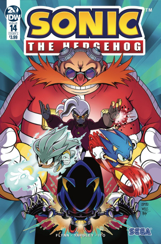 Sonic the Hedgehog #14 (Wells Cover)