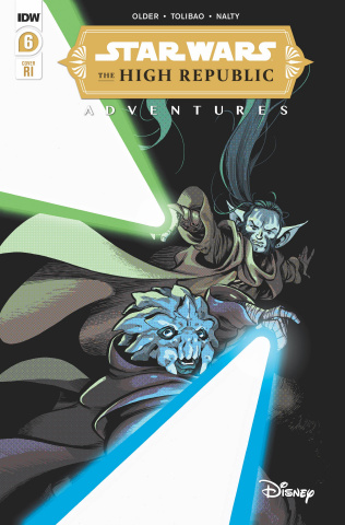 Star Wars: The High Republic Adventures #6 (10 Copy Kyriazis Cover)