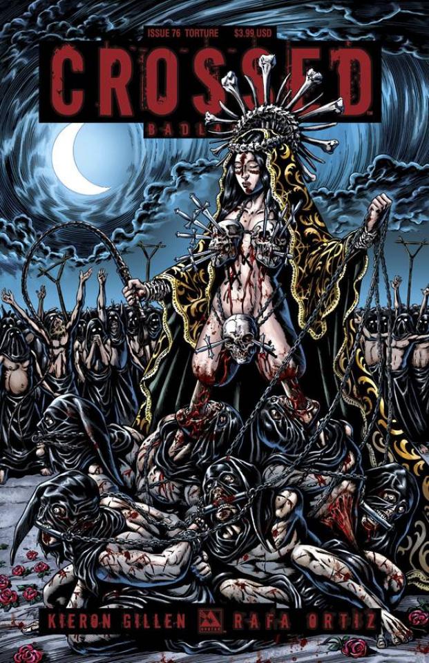 Crossed: Badlands #76 (Torture Cover)