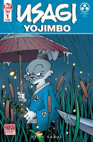 Usagi Yojimbo #1 (2nd Printing)
