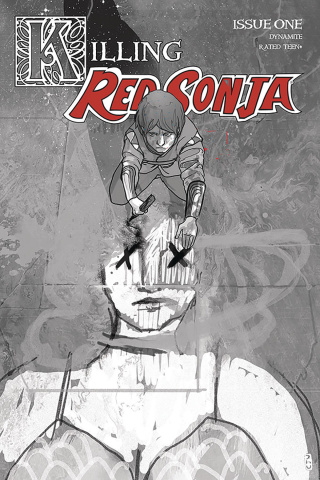 Killing Red Sonja #1 (10 Copy Ward Grayscale Cover)