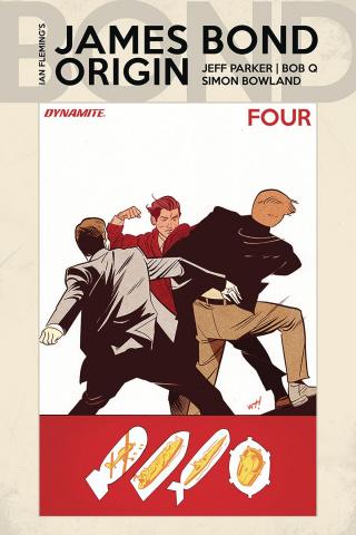 James Bond: Origin #4 (Torres Cover)