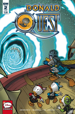 Donald Quest #2 (Subscription Cover)