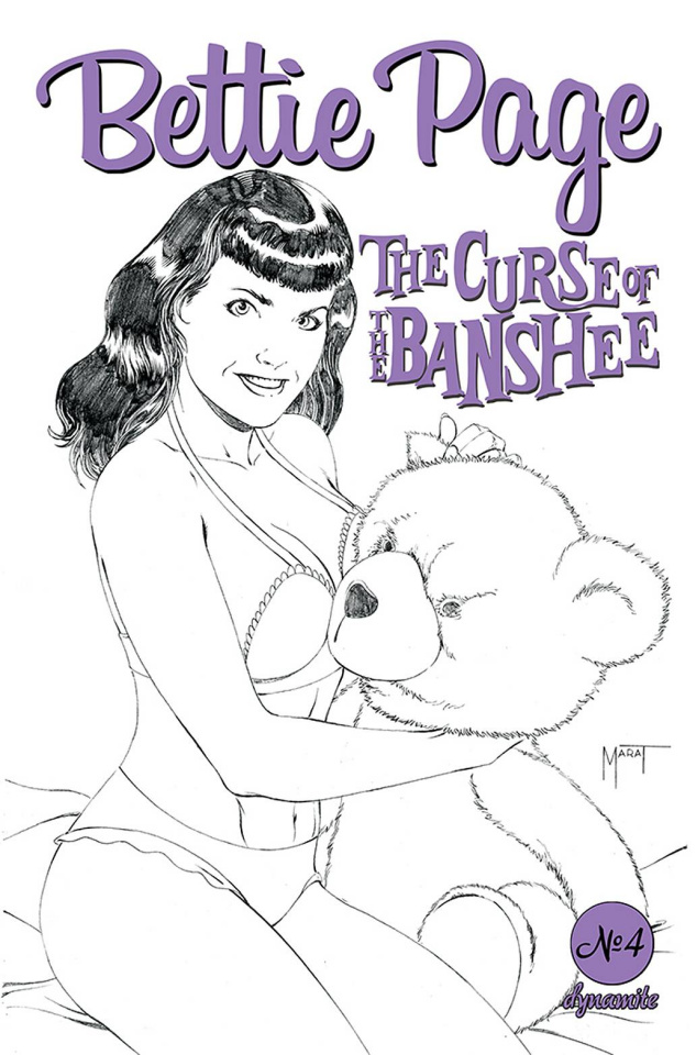Bettie Page and The Curse of the Banshee #4 (10 Copy Mooney Cover)