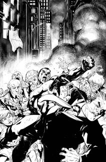 Bloodshot U.S.A. #1 (50 Copy B/W Sketch Stegman Cover)