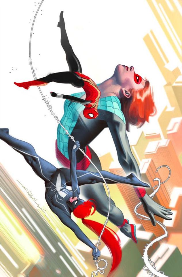 Spider-Girls #1 (Dekal Cover)