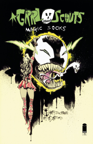 Grrl Scouts: Magic Socks #1 (Spawn Month Cover)