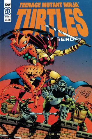 Teenage Mutant Ninja Turtles: Urban Legends #21 (Fosco & Larsen Cover)