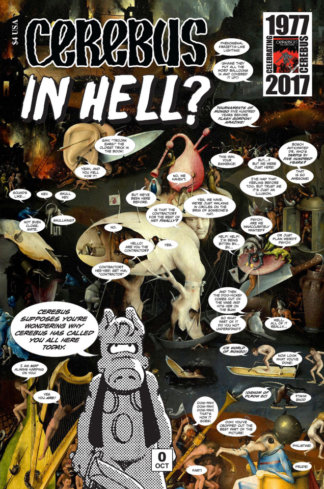 Cerebus: In Hell? #0