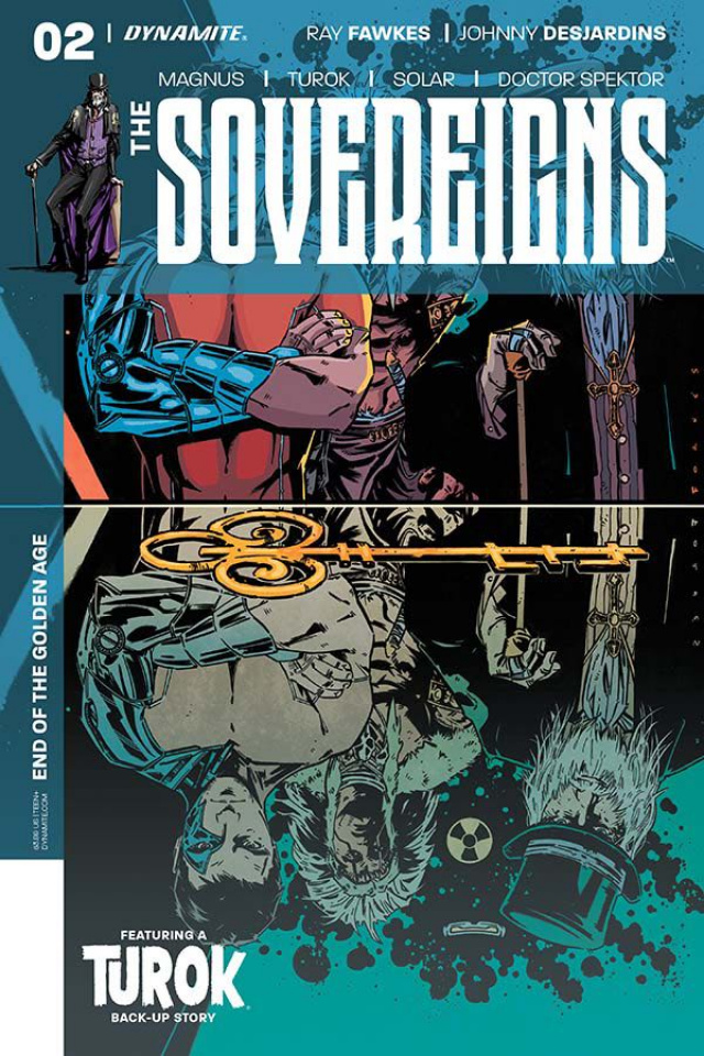 The Sovereigns #2 (Fornes Cover)