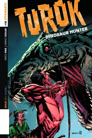 Turok: Dinosaur Hunter #10 (Sears Cover)