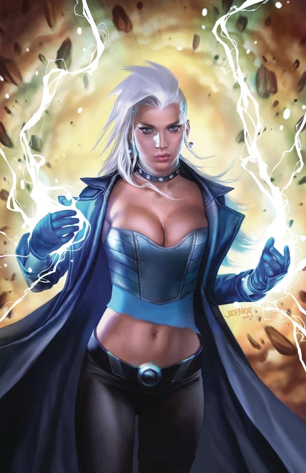 Robyn Hood: Vigilante #6 (Burns Cover)