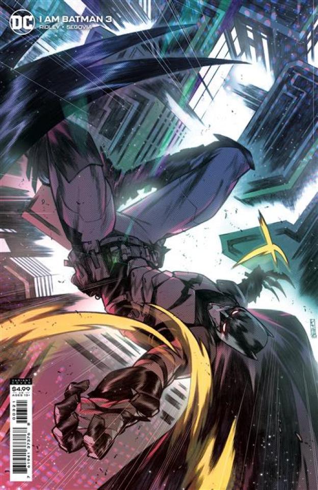 I am Batman #3 (Kim Jacinto Card Stock Cover)
