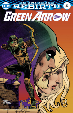 Green Arrow #33 (Variant Cover)