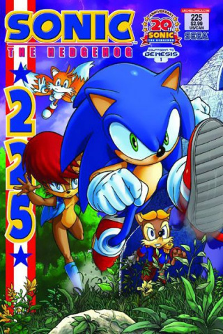 Sonic the Hedgehog #225