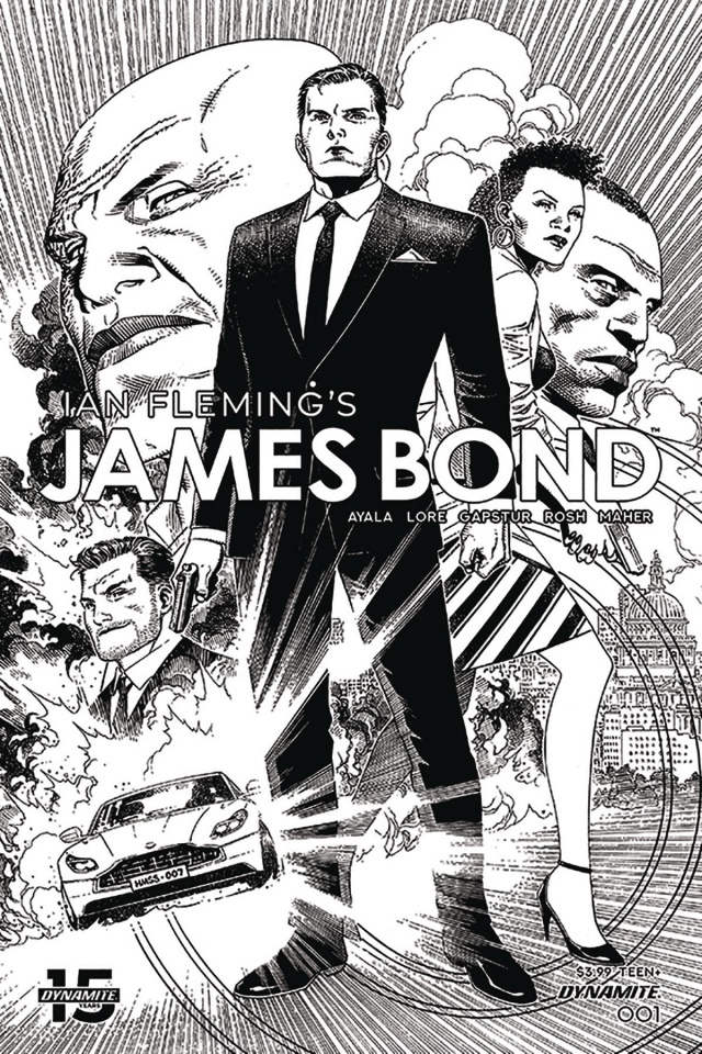 James Bond #1 (10 Copy Cheung B&W Cover)