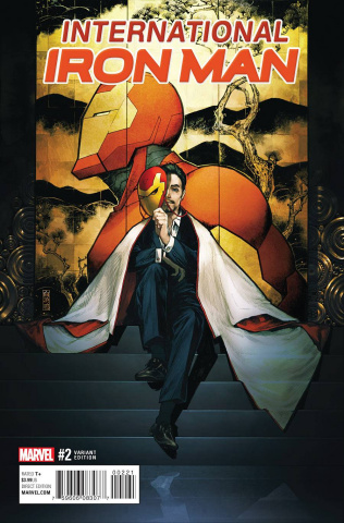 International Iron Man #2 (Shirahama Cover)
