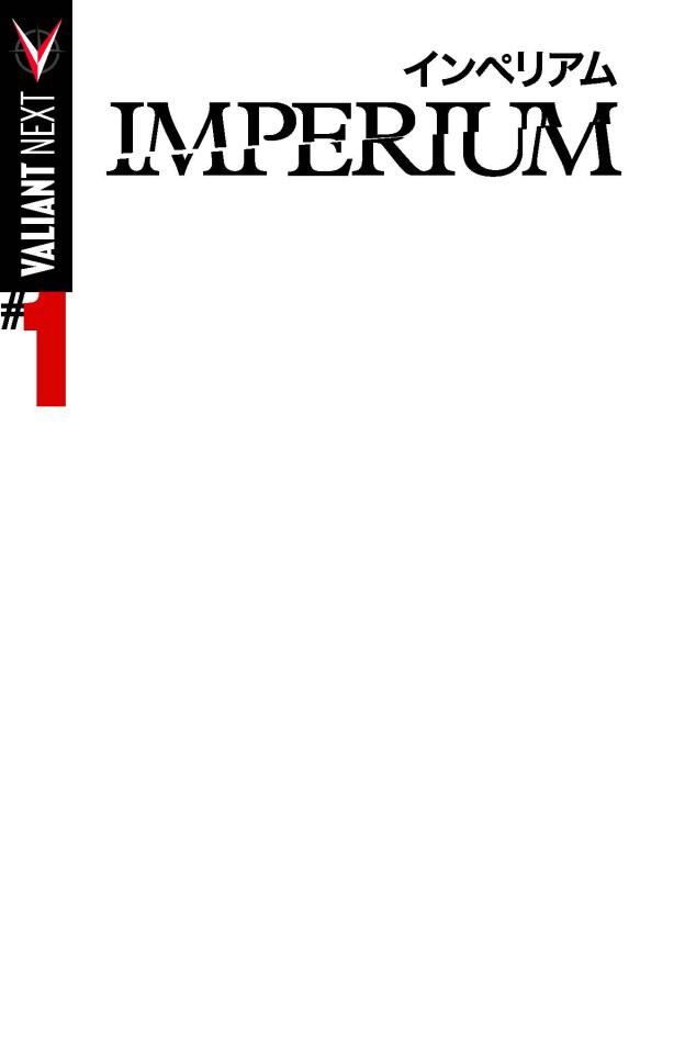 Imperium #1 (Blank Cover)