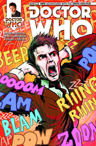 Doctor Who: New Adventures with the Tenth Doctor #10 (Williamson Cover)