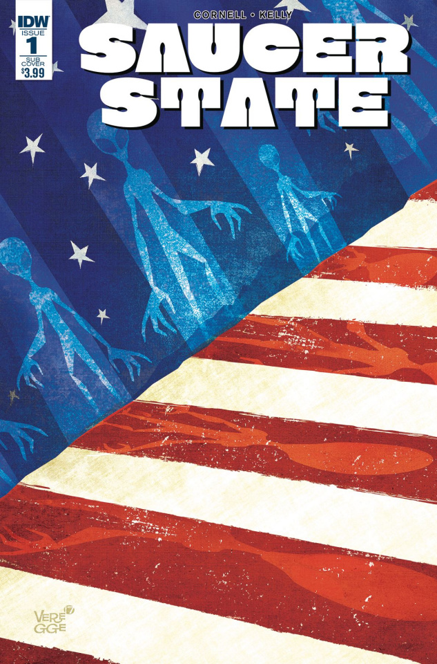Saucer State #1 (Subscription Cover)