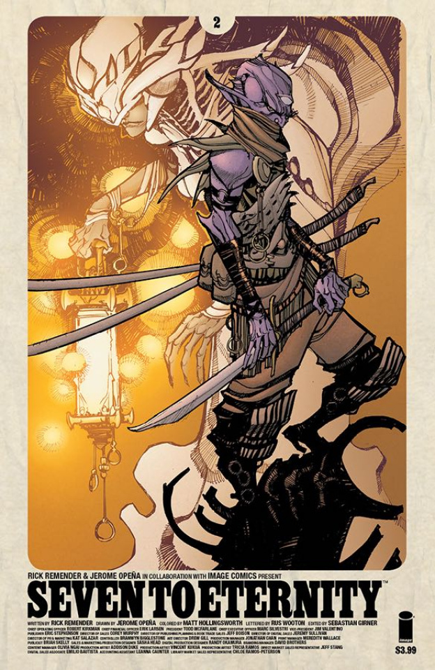 Seven to Eternity #2 (Canate Cover)