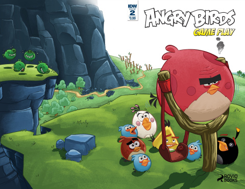 Angry Birds Comics: Game Play #2 (Subscription Cover)