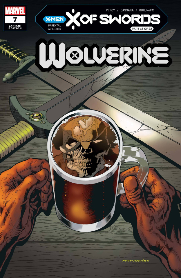 Wolverine #7 (Nowlan Cover)