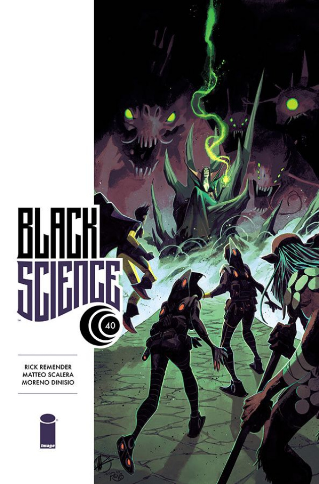 Black Science #40 (Scalera Cover)