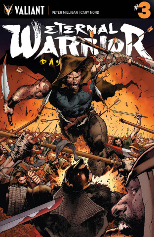 Eternal Warrior: Days of Steel #3 (Hairsine Cover)