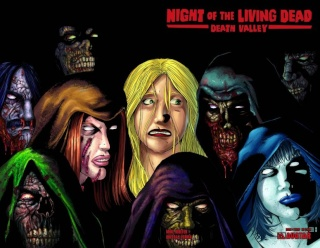 Night of the Living Dead: Death Valley #5 (Wrap Cover)