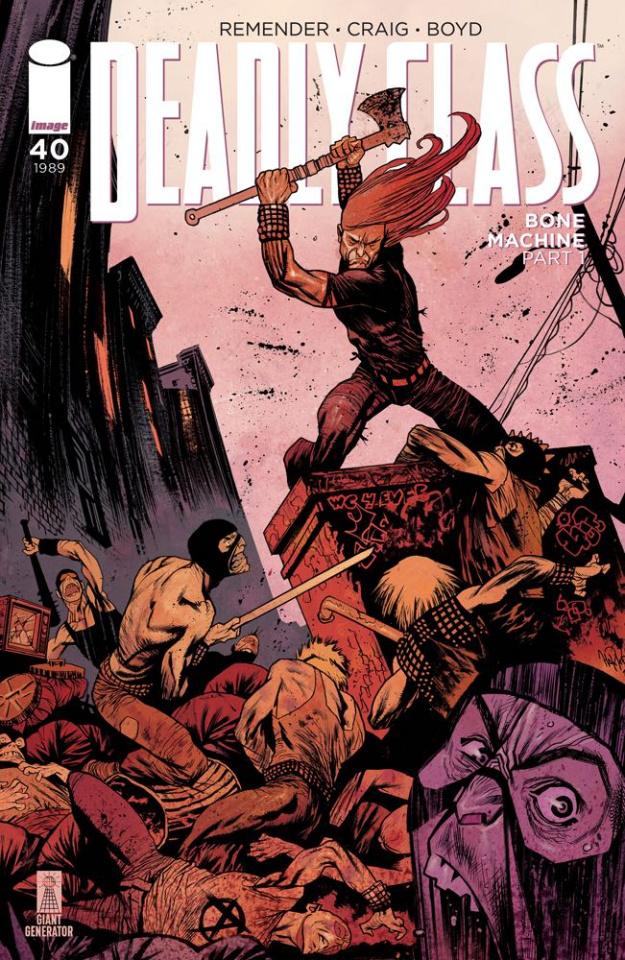 Deadly Class #40 (Harren Cover)